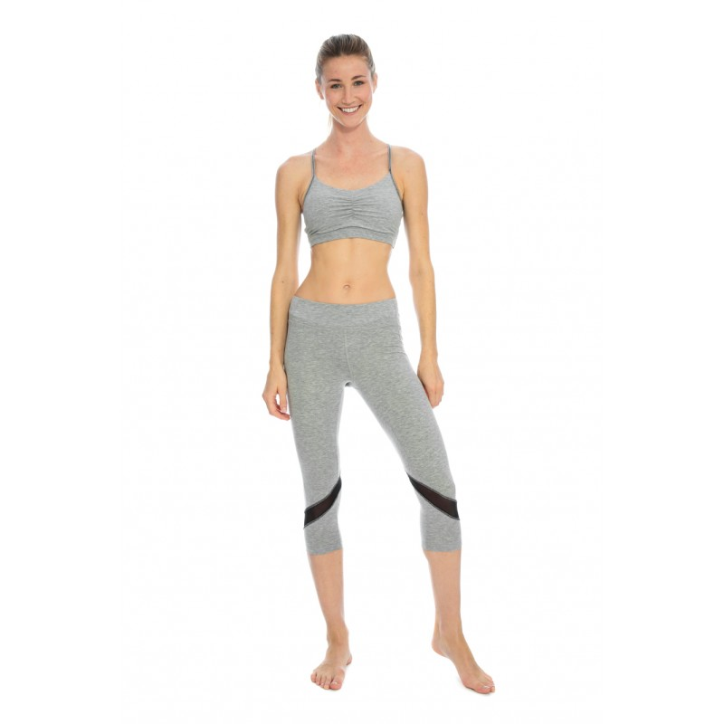 Purnata Yoga Legging - Pink Breeze