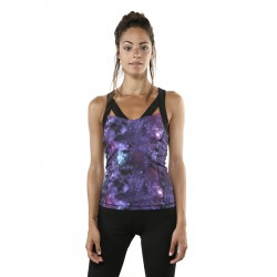 Siddha Yoga Sports Bra - Fire