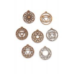 Chakra Set - Geometrical