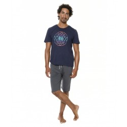 Brahma Short - Blue Floral