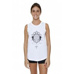 Camiseta Chanda - Flor de Luna
